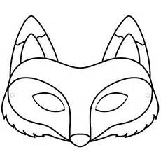 fox mask template best photos of fox mask template printable fox mask