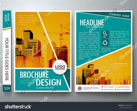 leaflet design concepts brochure design template vector flyers report stock vector