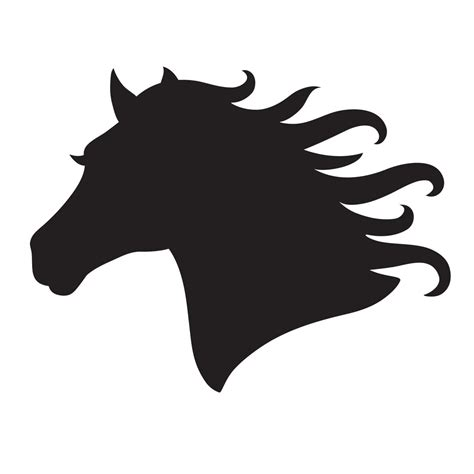 printable stencils of horses horse head stencil for glitter tattoos for horses