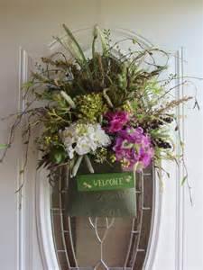 Summer Wreath For Front Door Door Wreath Summer Wreath Hydrangea Wreath Wreath