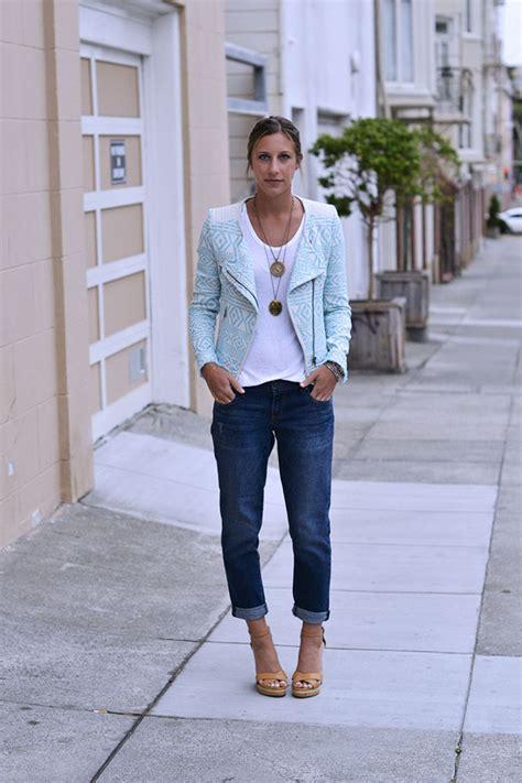The Secret to Looking Good in Boyfriend Jeans