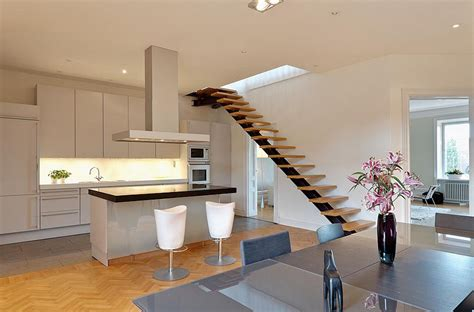 attic designs charming contemporary attic apartment idesignarch