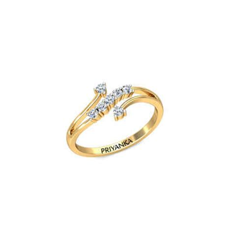 dazzle gold ring with name augrav personalized