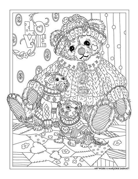teddy bear coloring pages for adults 17 b 228 sta bilder om m 229 larbilder p 229 pinterest care bears