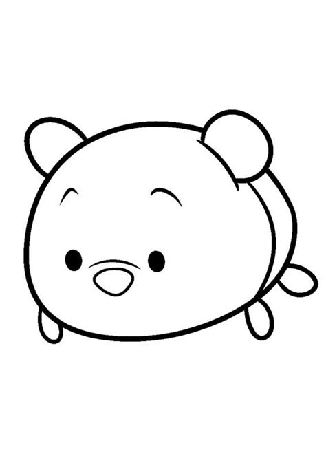 minnie mouse tsum tsum coloring page minnie mouse coloring pages of tsum tsums coloring pages
