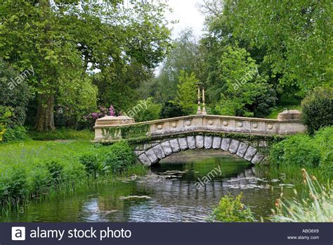 frogmore gardens stone bridge in frogmore gardens windsor stock photo