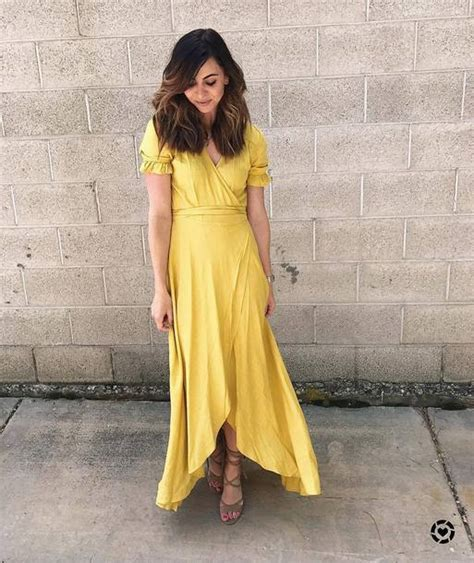 How To Copy Guccis Asymmetrical Yellow Dress For Less by Dress Asymmetrical Yellow Yellow Dress Maxi
