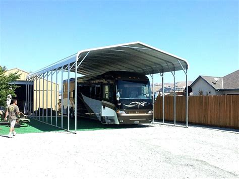 carport wohnmobil rv metal carports rv steel carports american steel