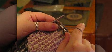 knit into stitch how to knit into the stitch below 171 knitting crochet