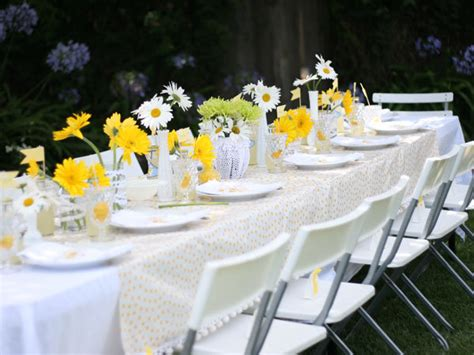 decorating ideas for themed bridal shower yellow themed bridal shower bridalguide