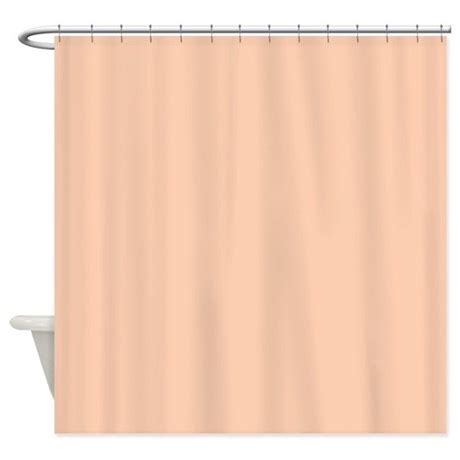 solid shower curtain solid apricot shower curtain by theshowercurtain