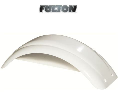 plastic boat trailer fenders with lights fulton single axle trailer fender 8 quot to 12 quot wheels