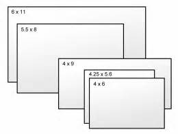 what is the size of a normal business card postcard size guide