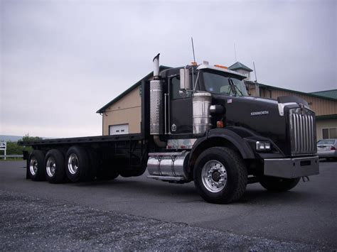 kw t800 for sale used 2000 kenworth t800 flatbed truck for sale kenworth