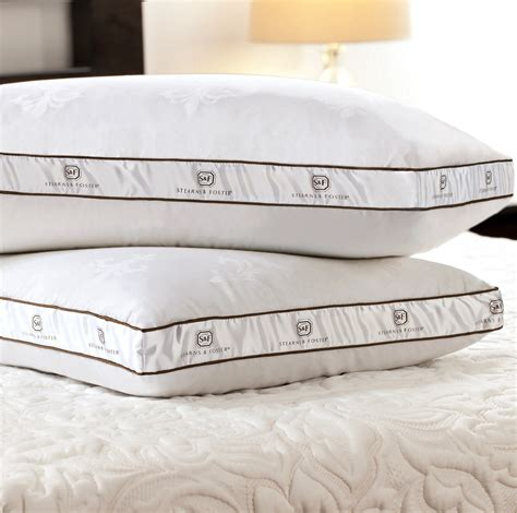 sears bed pillows stearns foster down memory core pillow sears