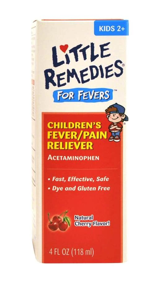 remedies child fever reliever