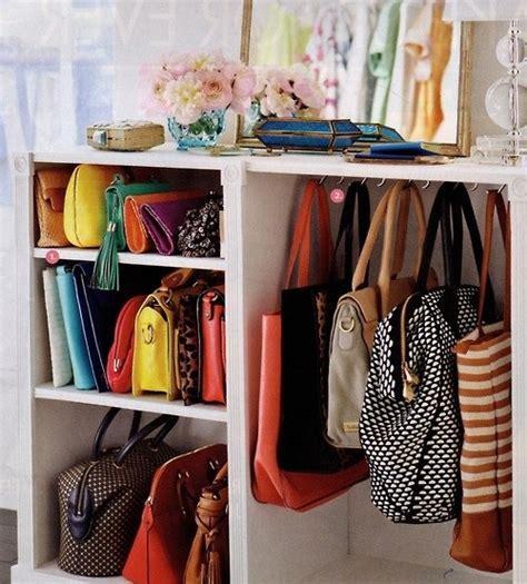 closet organizer for purses closets