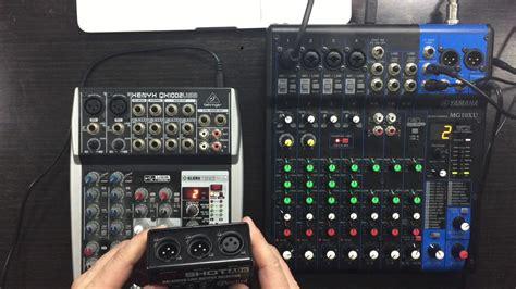 Mixer Behringer Xenyx Qx1002usb yamaha mg10xu vs behringer qx1002usb compact mixer desk