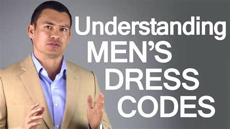 men s dress codes social dresscodes for men business
