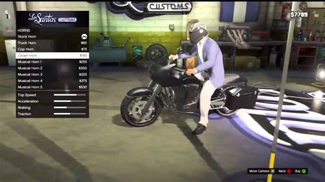 Motorrad Tuning Gta 5 by Gta 5 Motorcycle Modified New Youtube