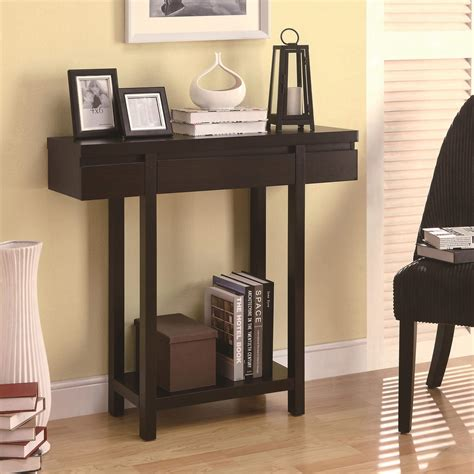 accent entry table accent tables modern entry table with lower shelf