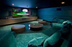 Media room basement remodel 2 interior design ideas