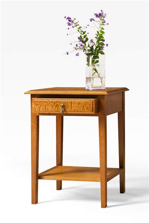 Silky Oak Bookcase Open Shelf Silky Oak Bedside Table With Drawer Shelf Lacewood
