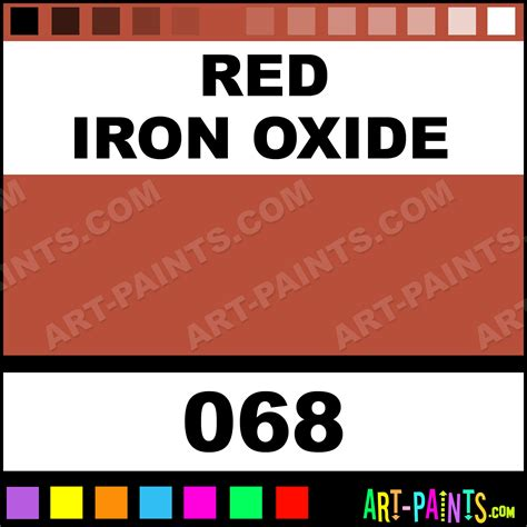 iron oxide finest artists watercolor paints 068 iron oxide paint iron oxide