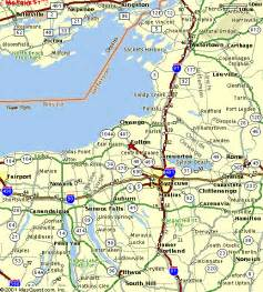 Map Of Central New York central new york map