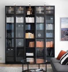 Ikea Billy Bookcase With Glass Doors H O M E Pinterest Ikea Usa Bookshelves