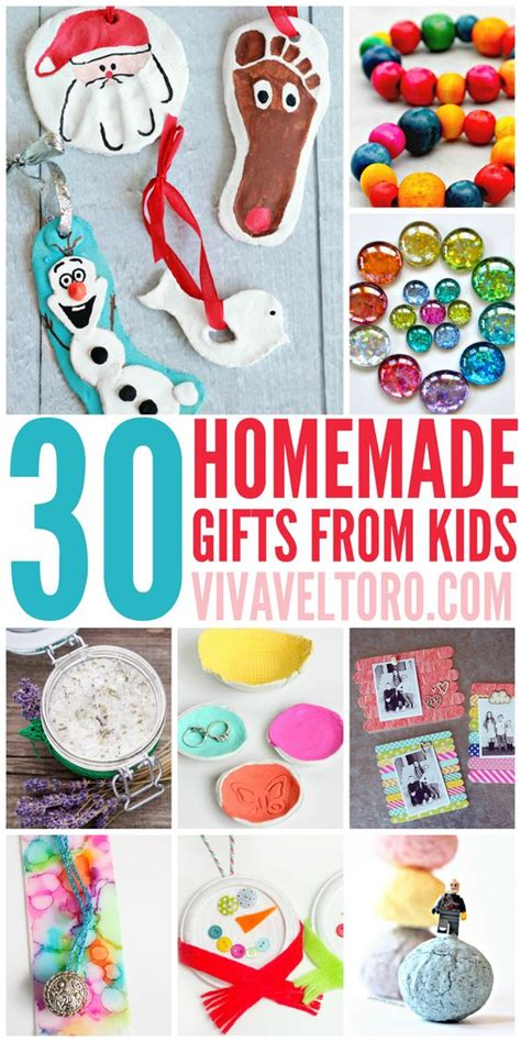 Handmade Gifts For Grandparents - 30 gifts from crafts parents and