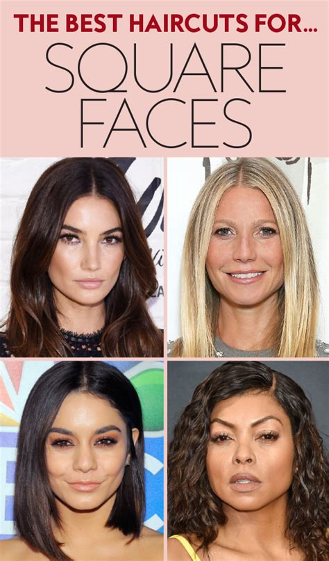 Hairstyles For Square Shaped Faces by The Best Haircuts For Square Shaped Faces Instyle