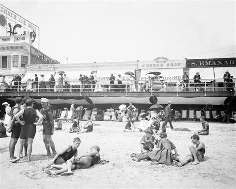 jersey city and its historic classic reprint books boardwalk atlantic city 1900s 8x10 reprint of
