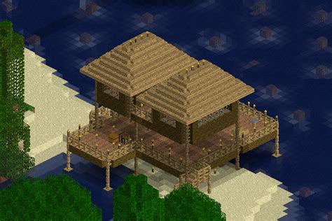 Minecraft Tiki Hut minecraft tiki hut images