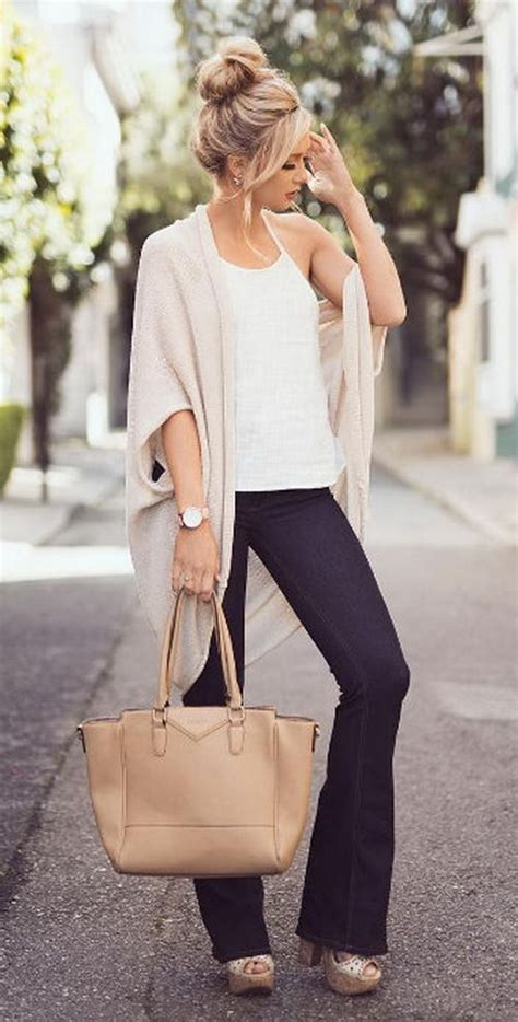 great summer  fall transition outfit fashion