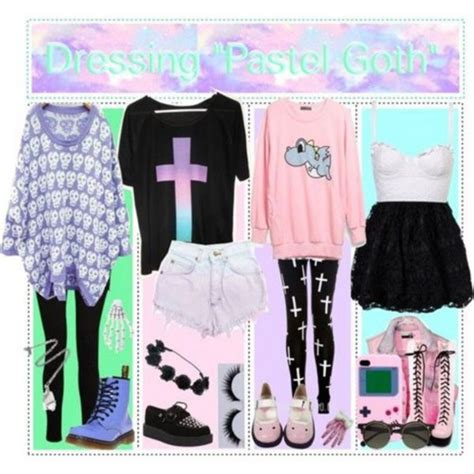 kawaii pastel goth fashion tumblr pastel images pastel goth outfit ideas wallpaper and
