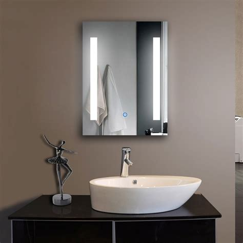 Bathroom Vanity Wall Mirrors Led Vanity Bathroom Mirrors Bathroom Vanity Cabinets Illuminated Backlit Rectangle Frameless