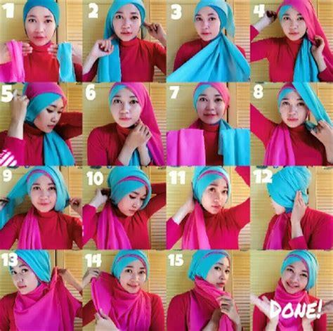 tutorial hijab wisuda trend 2015 video tutorial hijab modern untuk wisuda terbaik