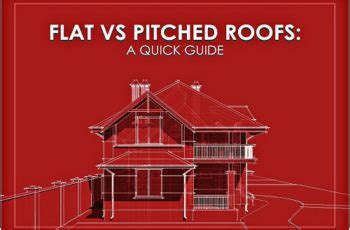 Flat Roof Vs Pitched Roof Getting Your Roof Done The Professional Advantage Kravelv