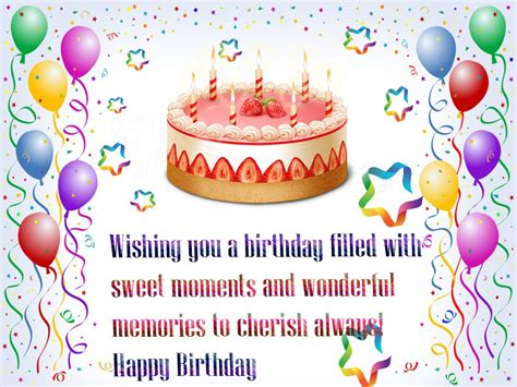 Birthday Wishes Quotes In Happy Birthday Wishes Quotes Hd Wallpaper Free With Cake