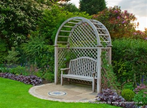 garden bench with trellis garden benches gates gazebos planters hardwood