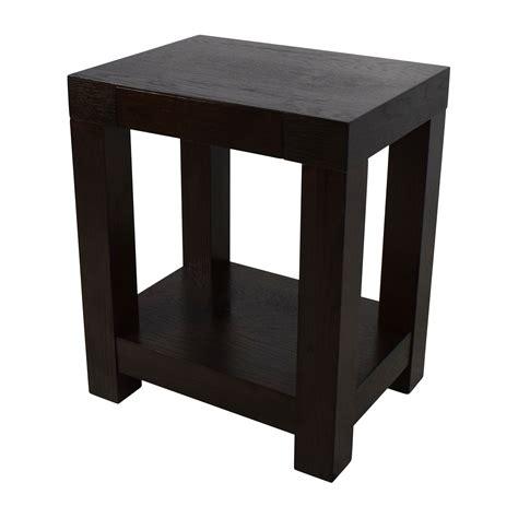 76% OFF   West Elm West Elm Parsons End Table / Tables