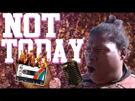 Not Today Meme - not today the building is on fire ft michelle dobyne