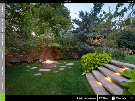 fire in the backyard split level backyard and fire pit outdoor gardens