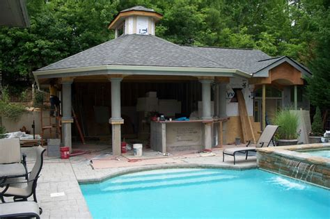 build a pool house residential outdoor construction and renovating services