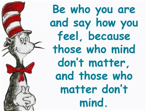 how to say i you books dr seuss quotes be who you are and say what you feel image