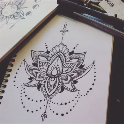 mandala tattoo tumblr mandala lotus