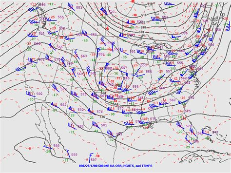 us weather map wind direction the winter of 1 2 march 2009