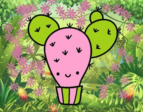 fiori di ficodindia disegno cactus ficodindia colorato da utente non