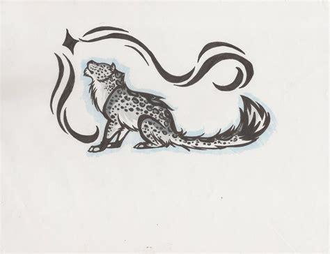 snow leopard tattoo designs leopard tattoos askideas